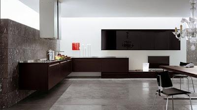 8 fotos de cocinas minimalistas en color chocolate auto for Cocinas minimalistas