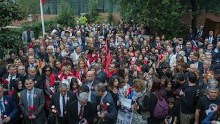 Τουρκική φιέστα στη Θεσσαλονίκη για την επέτειο θανάτου του σφαγέα Κεμάλ
