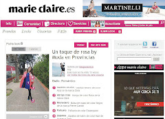 MI BLOG EN MARIE CLAIRE