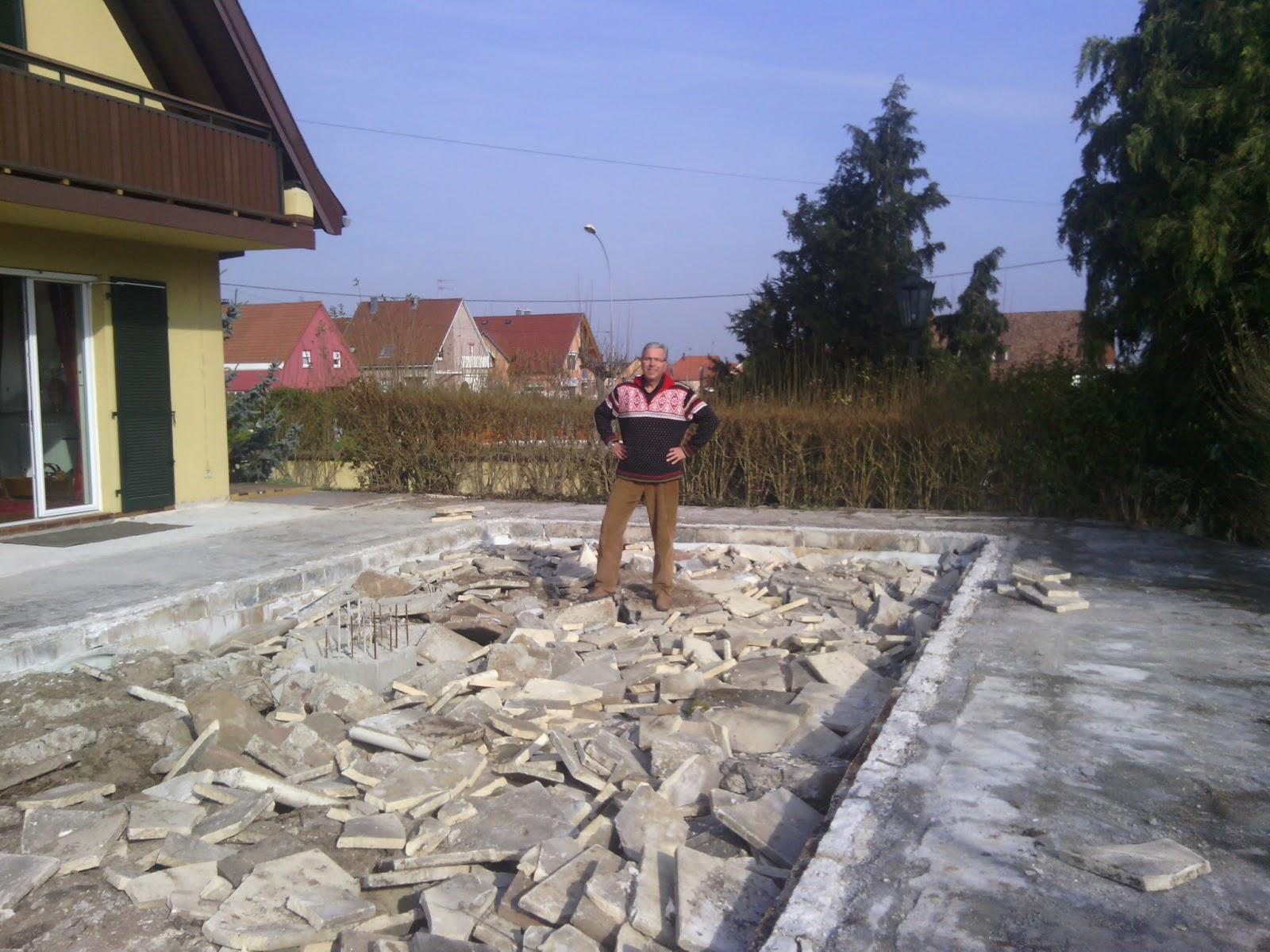 Jardin alsace vignoble for Combler une piscine