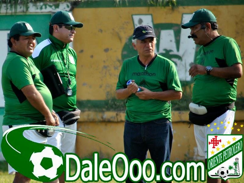 Oriente Petrlero - Jaime Jemio - Eduardo Villegas - Roberto Fereira - Jaime Jimenez - DaleOoo.com sitio del Club Oriente Petrolero