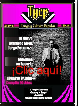 Tango y Cultura Popular N° 127 - Clic aquí