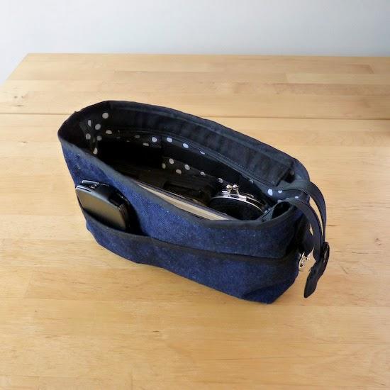 L 39 atelier de vekao un organisateur de sac - Tuto organisateur de sac ...