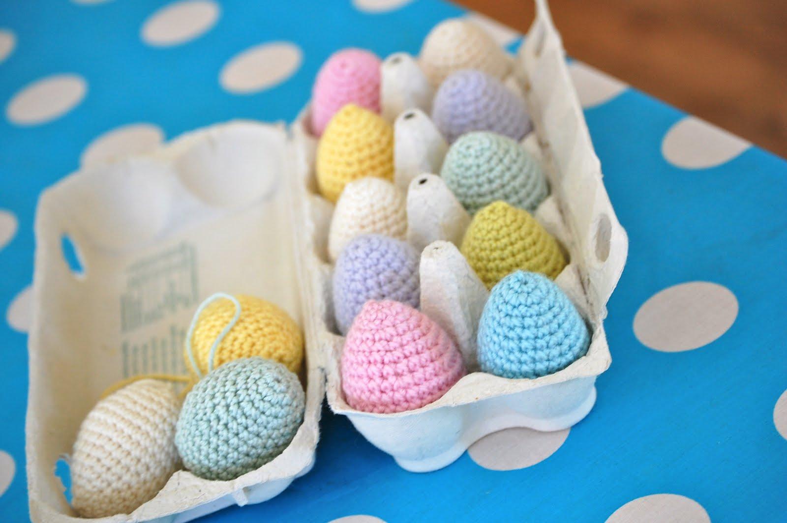 Crocheting Easter Eggs : Greedy For Colour: Crochet Easter Eggs!!!