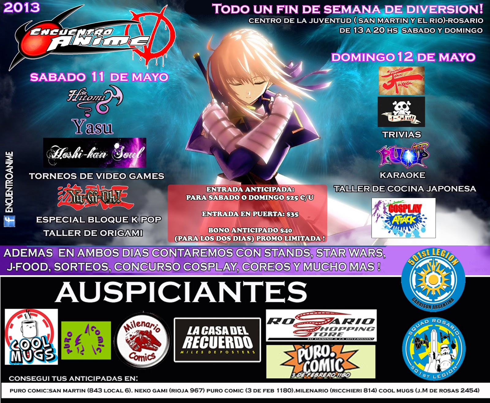 Evento de anime Doble en Rosario !