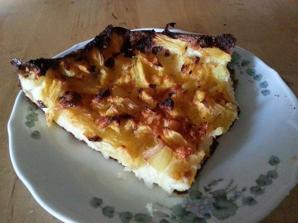 Lecker und kalorienarm kochen ananas quark grie kuchen for Kochen kalorienarm
