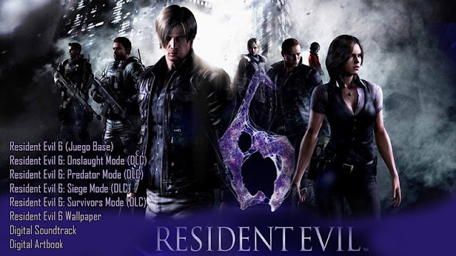 Resident Evil 6 collection Edition PC Full Español