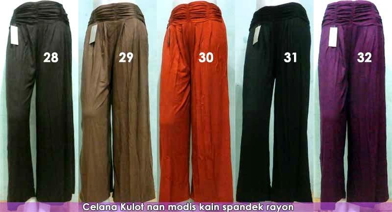 model celana kulot dan rok panjang modis