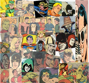 Just SOME of the cast of ADVENTURE COMICS!