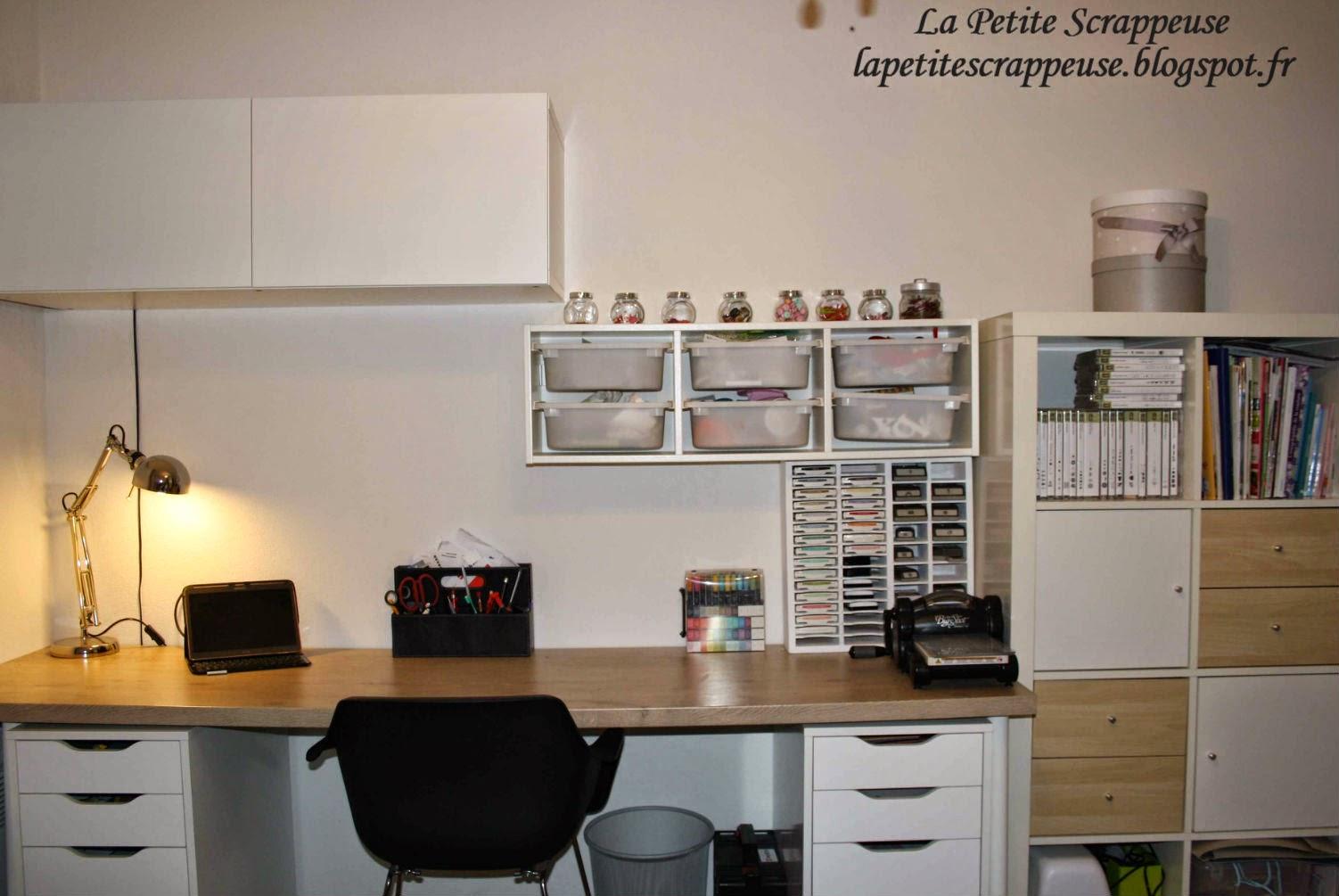 la petite scrappeuse visite de ma scraproom. Black Bedroom Furniture Sets. Home Design Ideas
