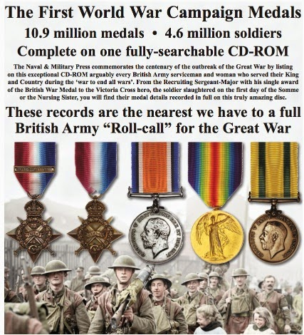 WW1 medal rolls CD ROM