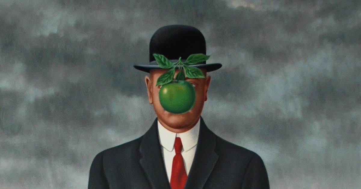 Resultado de imagen para René François Ghislain Magritte,manzana