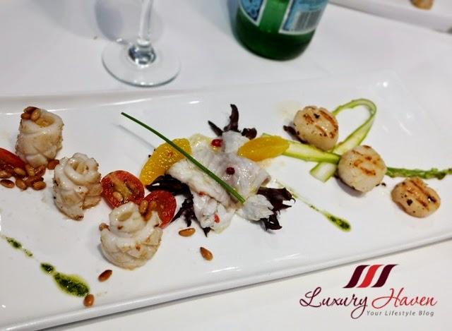 etna italian restaurant trilogia dal mare review
