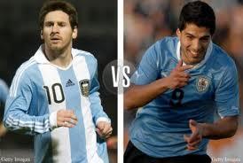argentina vs uruguay con un lugar en semifinales de la copa america