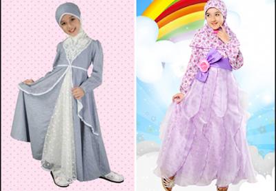 fashion show busana muslim pesta