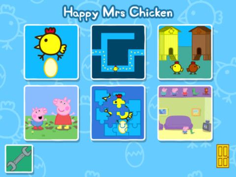 Happy Mrs. Chicken app