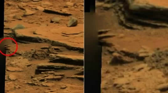 Polêmica: Robô da Nasa flagra 'mão de ET' em Marte