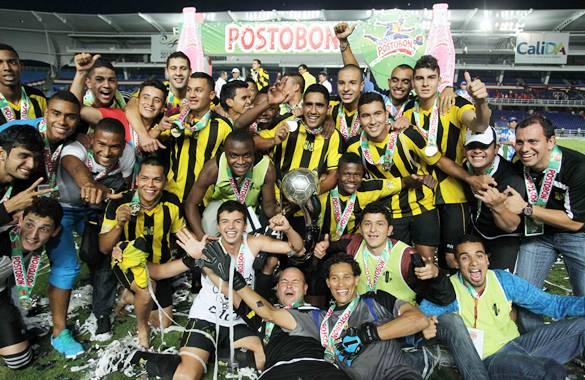 Alianza Petrolera, campeón Torneo Postobon