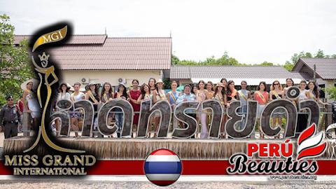 Y las actividades continúan en Miss Grand International 2015