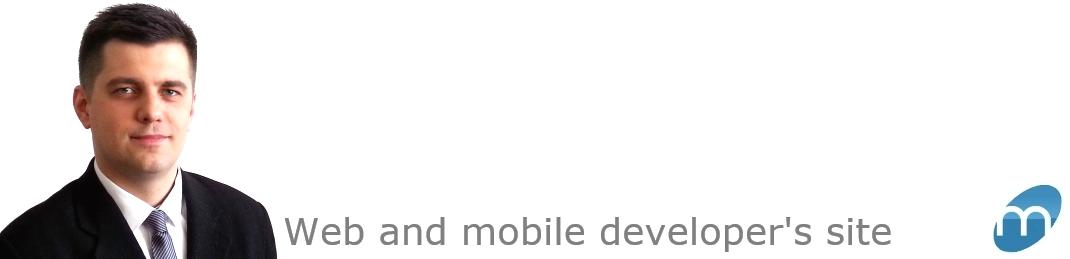 Web and mobile developer's site