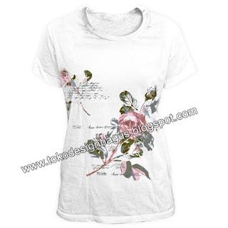 desain-kaos-dan-t-shirt-gambar-motip-bunga