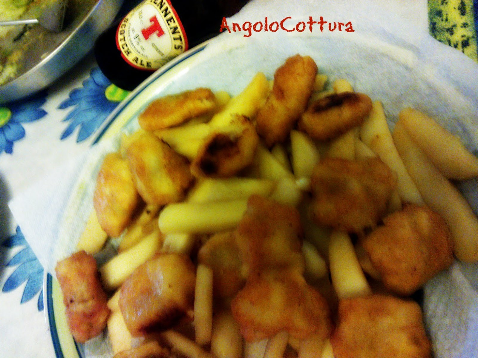 Angolocottura fish chips home made for Eds fish and chips