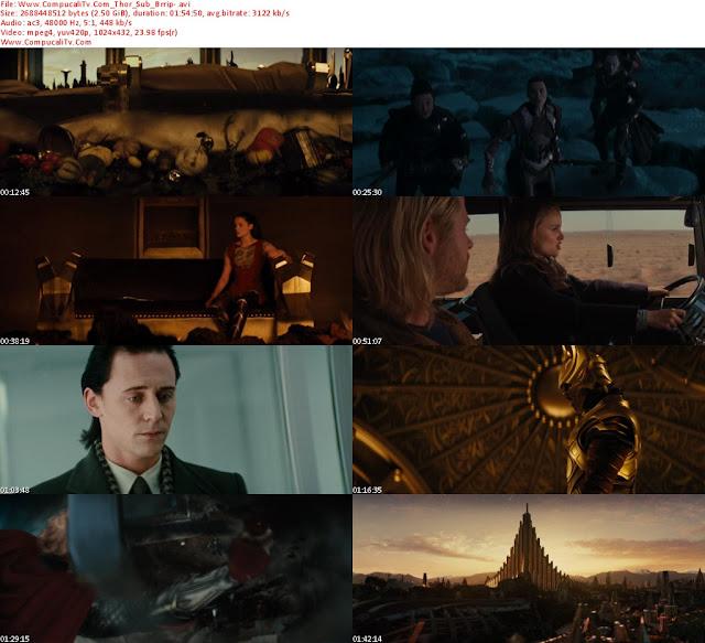 Thor DVDRip Español Latino 2011 Descargar