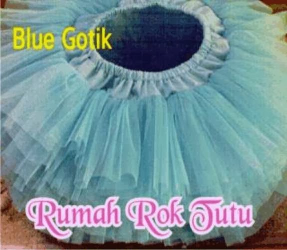 ROK TUTU GOTIK : BLUE GOTIK