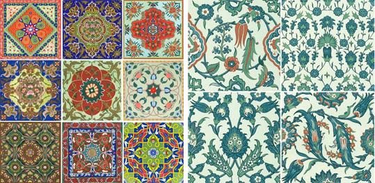 Azulejos Baño Vinilo:Deco: Elementos de diseño: Patchwork de azulejos