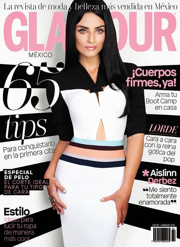 Actress, Model: Aislinn Derbez for Glamour, Mexico