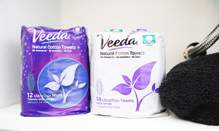 Veeda 100% Natural Cotton Towels / Pads review