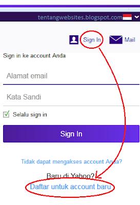 cara buat email yahoo terbaru
