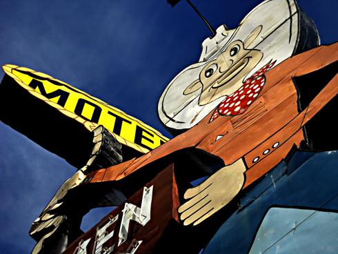 ranchmen motel medicine hat alberta photography