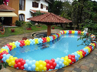 Como decorar uma piscina for Baby k piscinas