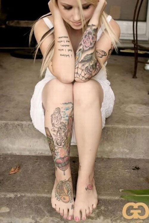 Hottest tattoo a very beautiful tattoo for Hot tattooed babes
