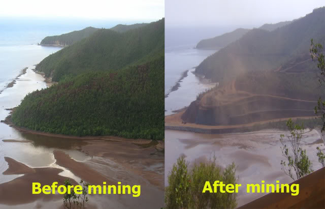 Image result for ECOSYSTEM mining effects in the philippines