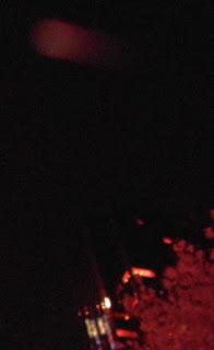 speeding red orb