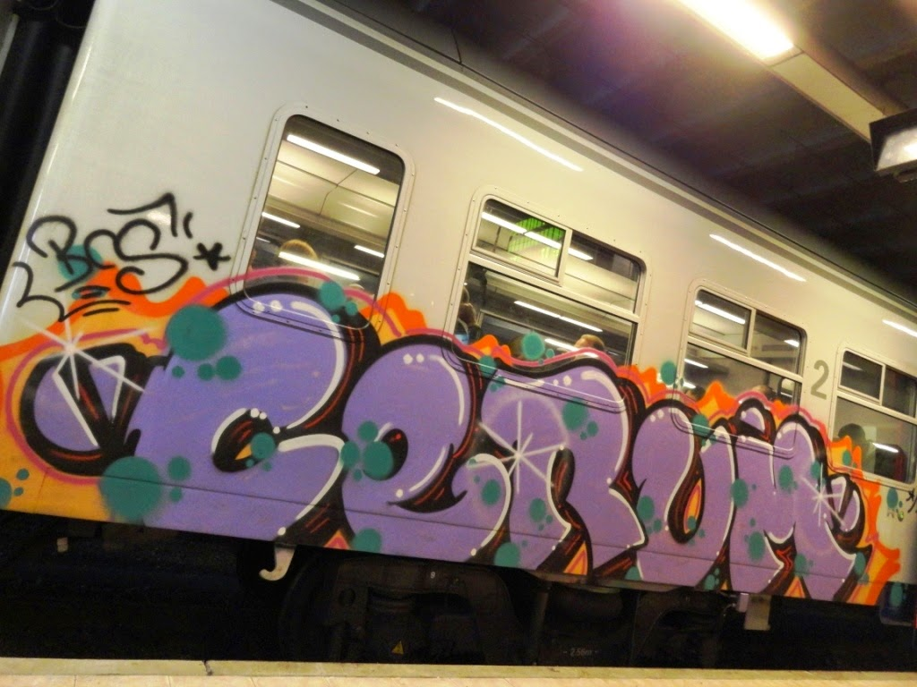 NMBS GRAFFITI SNCB