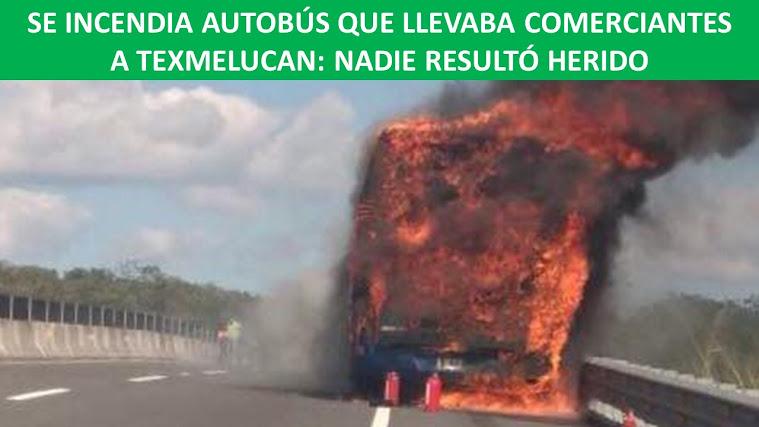 quemada de bus