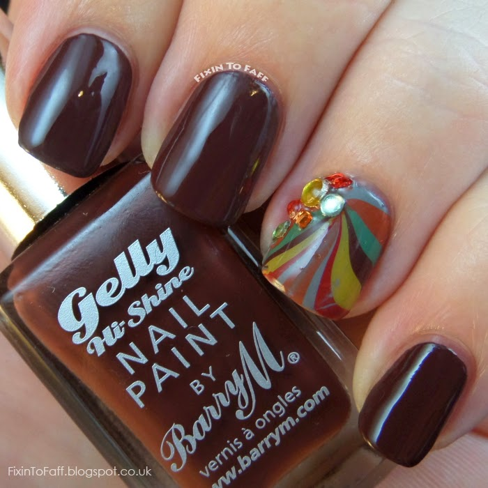 Barry M swatch Cocoa