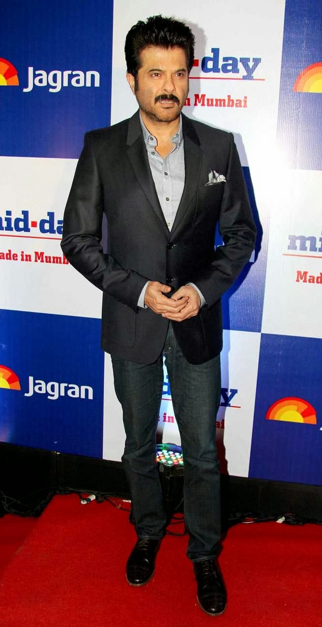Anil Kapoor at Mid Day Newspaper's Relaunch Party