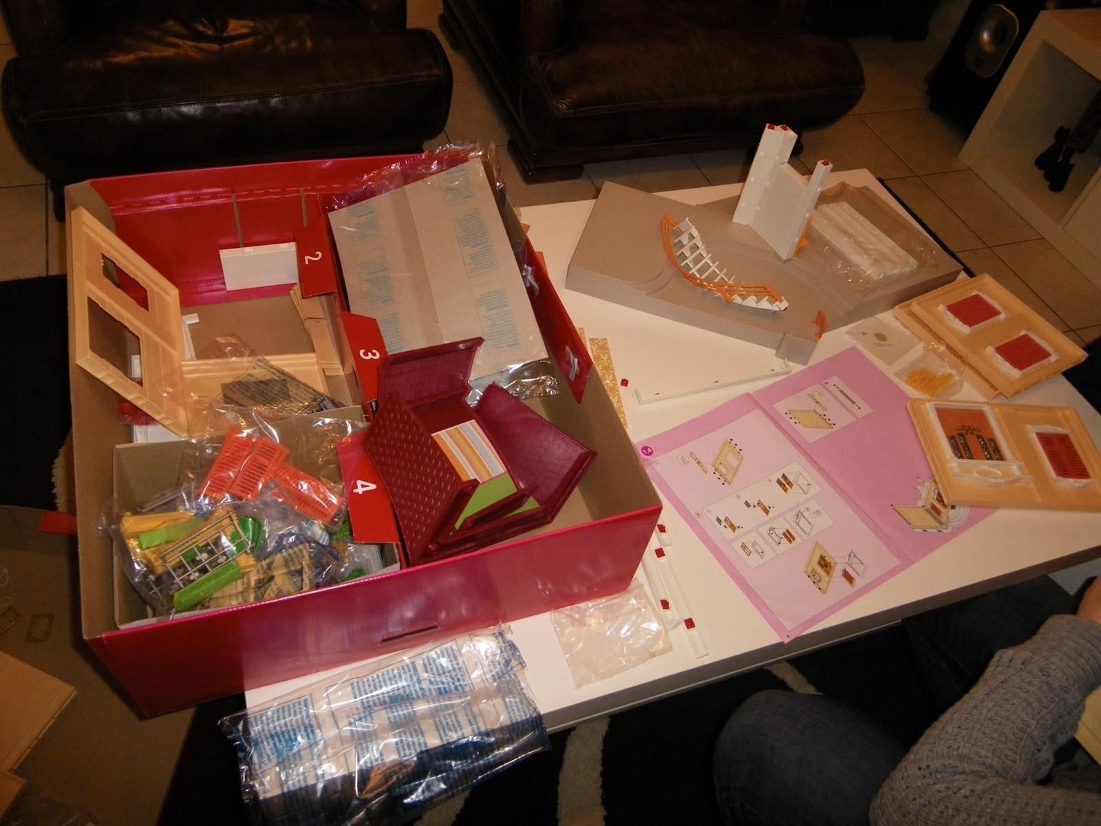 Toupie croquette construction de la maison playmobil - Construire une maison playmobil ...