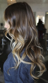 Saç Uçlarına Boya Modelleri