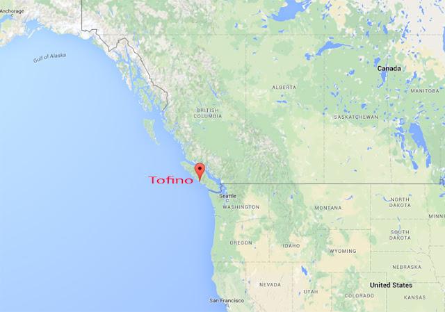 Tofino, en la costa oeste canadiense
