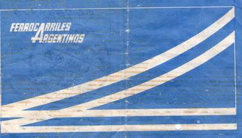 Boleto de Ferrocarriles Argentinos