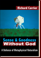 Cover of Sense and Goodness without God