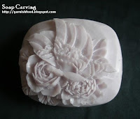 how to carve soap