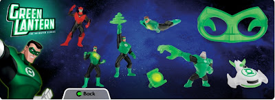 Happy Meal Green Lantern toys coming soon at McDonald's