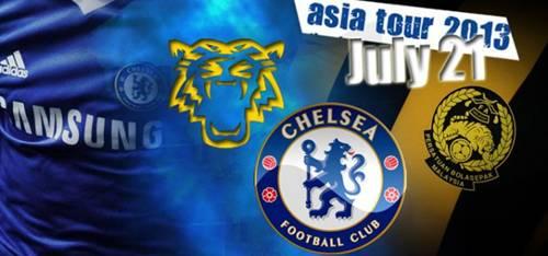 Telah berlangsung perlawanan persahabatan antara Malaysia vs Chelsea semalam bagi sesi jelajah Asia oleh pasukan kelab ternama Chelsea Fc ke Malaysia