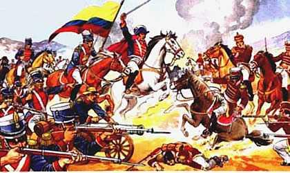 Ejercito de Gran Colombia Vs Ejercito del Perú